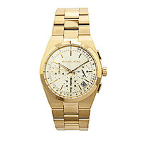 Michael Kors Channing Goldtone Chronographic Watch - Gold