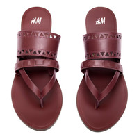 H&M Leather Sandals $34.95