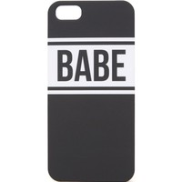 With Love From CA Babe iPhone 5G/5S Case - Womens Scarves - Black - NOSZ