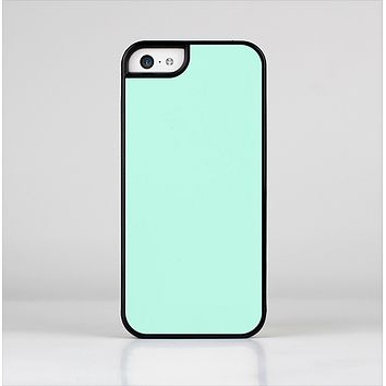 The Subtle Solid Green Skin-Sert Case for the Apple iPhone 5c