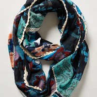 Floral Patchwork Infinity Scarf by Anthropologie