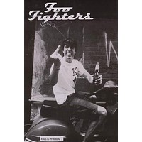 Foo Fighters Dave Grohl Scooter Finger Poster 24x36