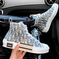 DIOR Letter recreational sneakers
