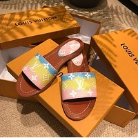 LOUIS VUITTON LV New classic slippers