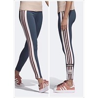 ADIDAS Pro Exercise Fitness Gym Running Training Leggings