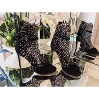 Rene Caovilla Women Casual Shoes Boots  fashionable casual leather