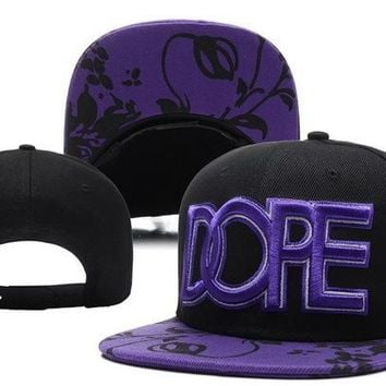 Perfect Dope Snapback hats Women Men Embroidery Sports Sun Hat Baseball Cap Hat