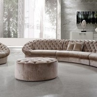 Classy Sectional Sofa, Chair and Ottoman
