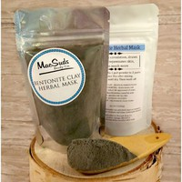 Bentonite Herbal Clay Face Mask