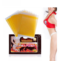 10Pcs Slim Stick Patch Wonderful Navel Stick/ Slimimg Patch quick lose weight /tunning figure Magnetic /Weight Burning Fat C021