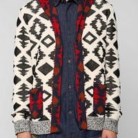 Koto Patterned Shawl Cardigan - Urban Outfitters