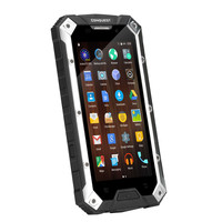 Conquest S6 Rugged Smartphone - IP68, 5 Inch HD Screen, 4G, Dual SIM Android 5.1, 3GB RAM, NFC (Silver Black)