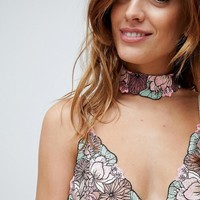 With Love Lilly Eloise Choker at asos.com