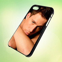 channing tatum cool artis celebrity AR244 Design - Cover For iPhone 4, iPhone 4S, iPhone 5 -  Black, White or Clear Apple Case