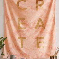 Gold Foil Create Tapestry