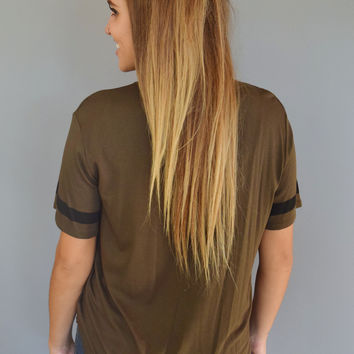 Game Day Tee Olive