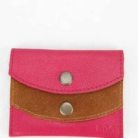 BDG Lynden Leather + Suede Small Wallet-