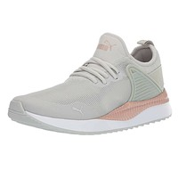 Puma Pacer Next Cage Metallic Gray Violet Rose Gold 368066 01 Women Size 9