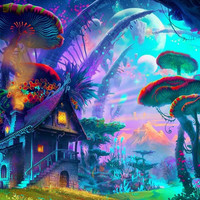 Psychedelic Trippy Art Poster Decor 8