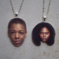 Poussey and Taystee Friendship Necklaces