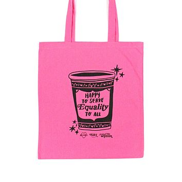 Serving Equality Tote Bag