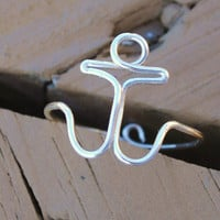 Wire Wrapped Adjustable Anchor Ring