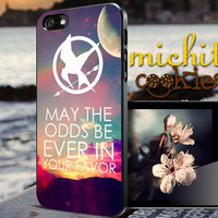 Hunger Games quote - iPhone 4/4s/5/5s/5c Case - Samsung Galaxy S3/S4 - Blackberry z10 Case - Black or White