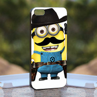 Despicable me Cowboy   - Design available for iPhone 4 / 4S and iPhone 5 Case - black, white and clear cases