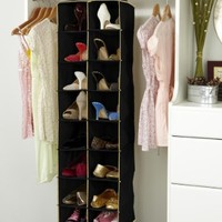 Kennedy Home Collection's Hanging 16 Shelf Organizer- Assorted