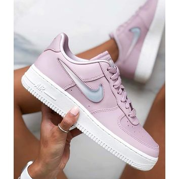 "Nike Air Force 1""07 SE PRM AF1 Gradient hook Women's low band shoes"