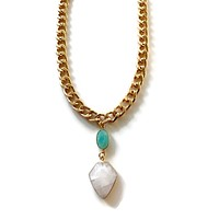 Chain & Crystals Necklace