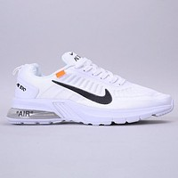 Nike Air PRESTO LOW UTILTY Fashion New Hook Print Sports Leisure Shoes White