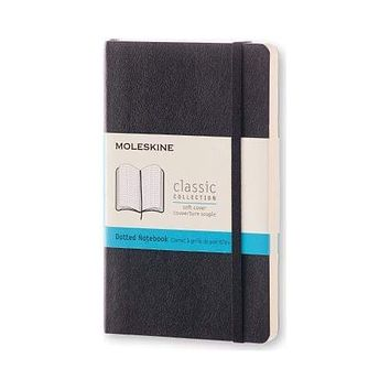 Moleskine Dotted Classic Pocket Notebook - Soft Cover
