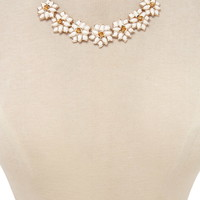 Flower Statement Necklace | Forever 21 - 1000203522