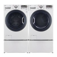 LG Electronics, 4.3 DOE cu. ft. High-Efficiency Front Load Washer in White, ENERGY STAR, WM3570HWA at The Home Depot - Tablet