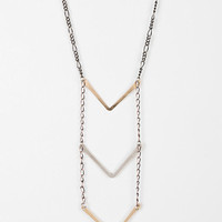 Jessica DeCarlo Long Chevron Necklace - Urban Outfitters