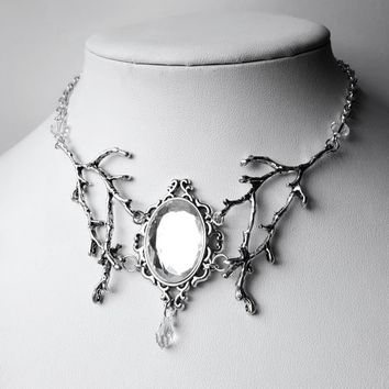Clear 'Gwendalyn' Pendant Necklace