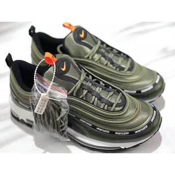 NIKE AIR MAX 97 x UNDEFEATED Olive green