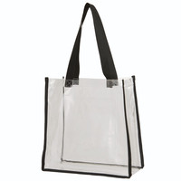 Augusta 2201Clear Tote - Clear Black