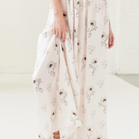 Oh My Love Veratrum High-Rise Maxi Skirt | Urban Outfitters