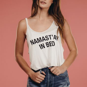 Namast'ay In Bed Tee