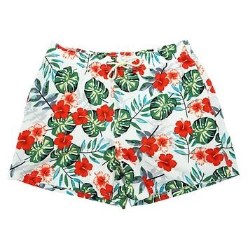 Tropic Like It's Hot Swim Trunks by Two Left Feet