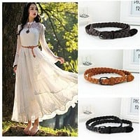 Women New Style Candy Color Dress Belt