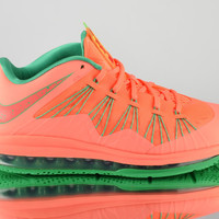 Nike Air Max Lebron X 10 Low Watermelon mens basketball shoes NEW bright mango