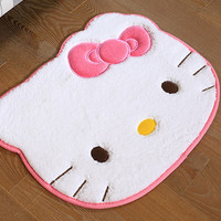 Size 55cm*45cm Hello Kitty bedroom carpet Cartoon carpets for living room Bath Mat modern bathroom rugs bathroom alfombras mat03
