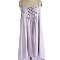 Boho Short Length Sleeveless Shift You Make a Good Needlepoint Dress