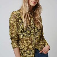 Luxe Lace Shirt