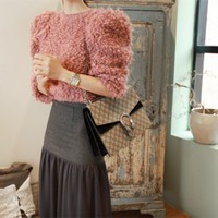 PARTYSU knit 27998 < Poodle puff knit (pink) < FASHION / CLOTHES < WOMEN < KNIT&CARDIGAN < knit