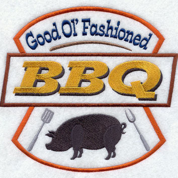Good Old Fashioned BBQ Apron  Father's Day Gift, Birthday Gift, Host Gift