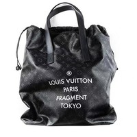 Louis vuitton fashion woman full of LOGO pull rope hand bill of lading shoulder bag